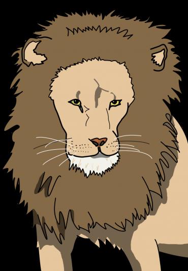 ライオンイラスト