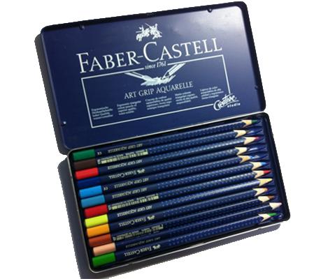 水彩用色鉛筆