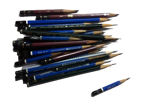 様々な鉛筆
