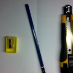 デッサン用鉛筆の削り方動画&画像解説