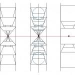 一点透視図法の描き方。立方体から楕円の描き方をマスターしよう。