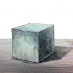 立方体(キューブ)の描き方 〜基本となる立体の描き方〜