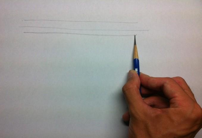 デッサンで使える鉛筆の持ち方