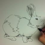 時間を決めてドローイングしてみよう。鉛筆・ペンを使って描く