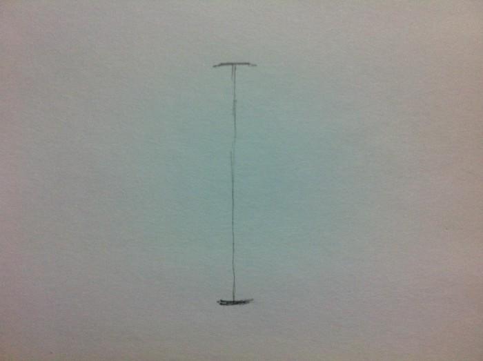 直径を描く