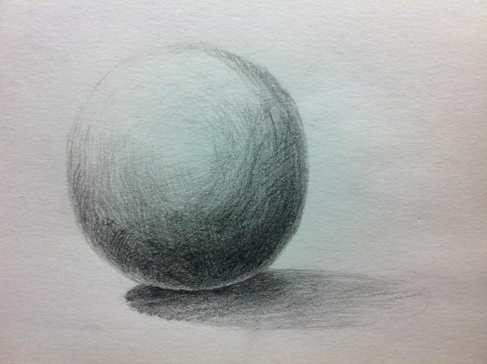 球体を描き込む