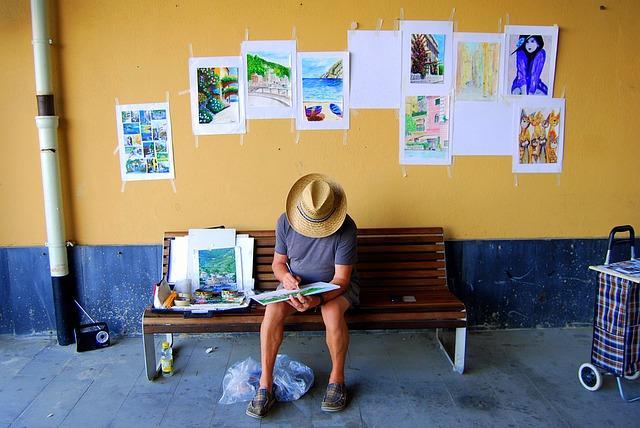 イラストを描く人