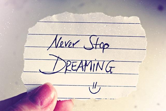 夢を諦めない